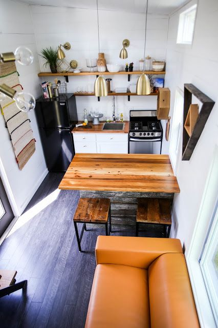 Tiny House Living Kitchen Designs - Kitchen Appliances Tips And Review